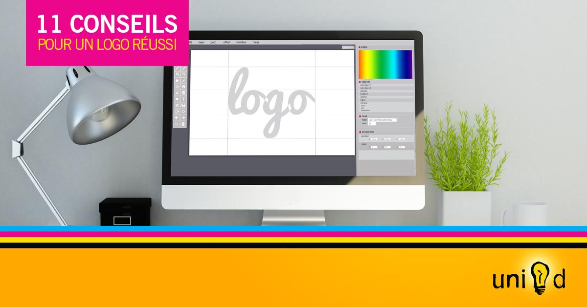 Uni-d - 11 conseils pour réussir la conception d'un logo