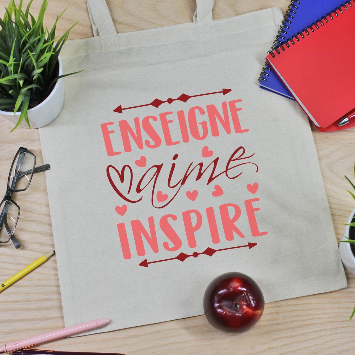 sac en coton pour professeur(e) - enseignant(e)