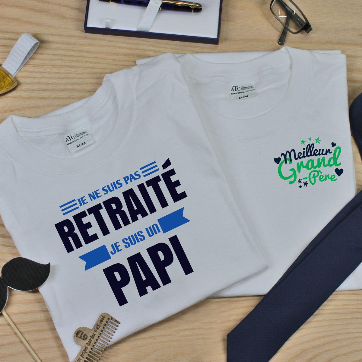 t-shirt en coton pour les grands-parents
