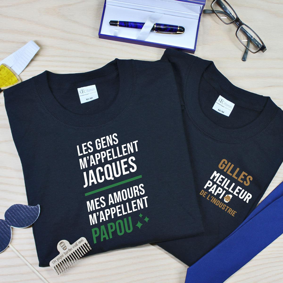 t-shirt en coton pour les grands-papas