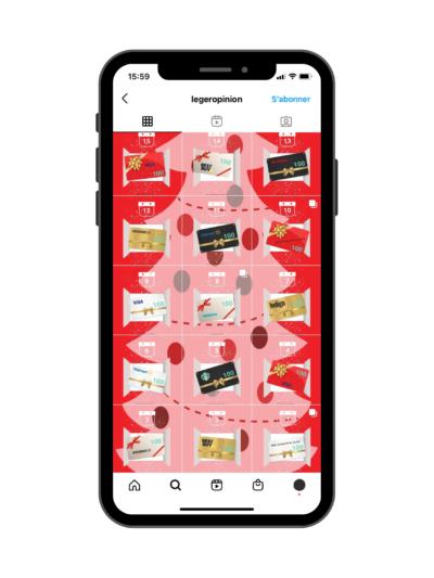 Exemple de feed Instagram avec collage - Exemple de Leo solution